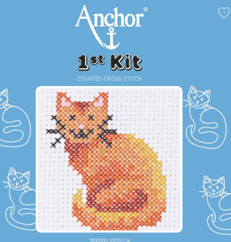 Anchor 1st Kit - Cat Tapestry Kit
