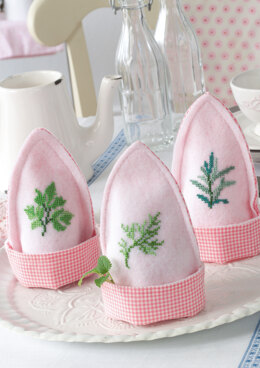 Anchor Aromatic Plants - Egg Cosies - 0060044-00901_12 -  Downloadable PDF