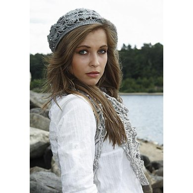Shells & Chains Slouchy Beret