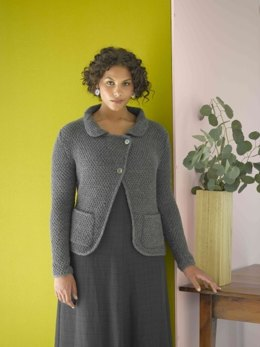 Ardsley Jacket in Lion Brand Wool-Ease - 90084AD