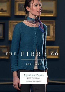 Rue Cambon Cardigan in The Fibre Co. Luma - Downloadable PDF