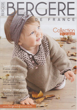 Bergere de France Magazine 170 - Knitting Magazine 0-2 Years