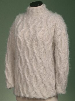 Simple Cable Pullover #125