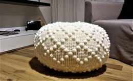 Crochet Rombo Pouf Small and Middle Size