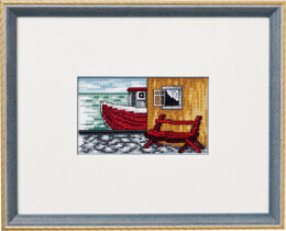 Permin Harbour Cross Stitch Kit - Multi