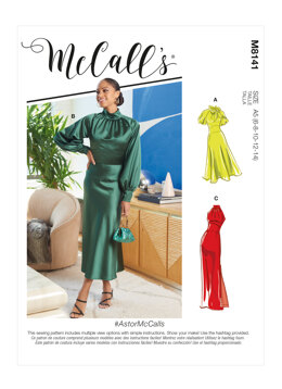 McCall's Misses' Dresses M8141 - Sewing Pattern