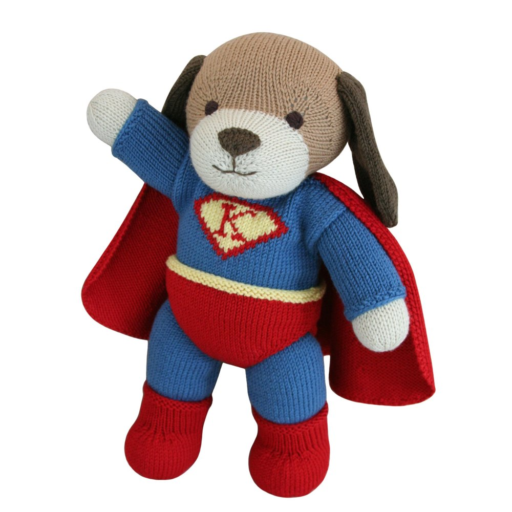 Superhero Outfit Knit A Teddy Knitting Pattern By Knitables