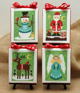 Tiny Modernist Christmas Cuties - Leaflet