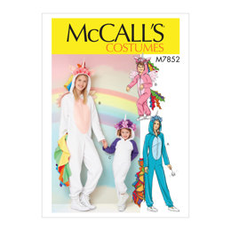 McCall's Miss/Children's/Girls' Costume M7852 - Sewing Pattern