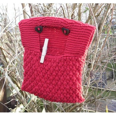 Cotton Clothes Hanger Peg bag