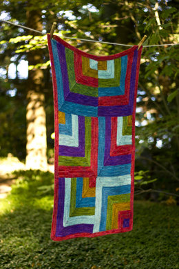 Rocketry Baby Blanket in Dream in Color Classy
