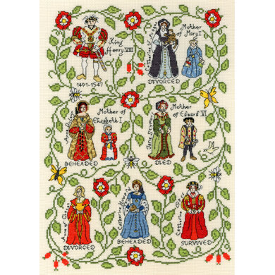 Bothy Threads Henry VIII Cross Stitch Kit