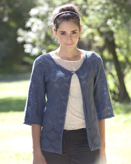 Swarthmore Sweater in Manos del Uruguay Serena Semi-Solid - 2011G