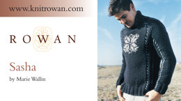 Sasha Sweater in Rowan Big Wool