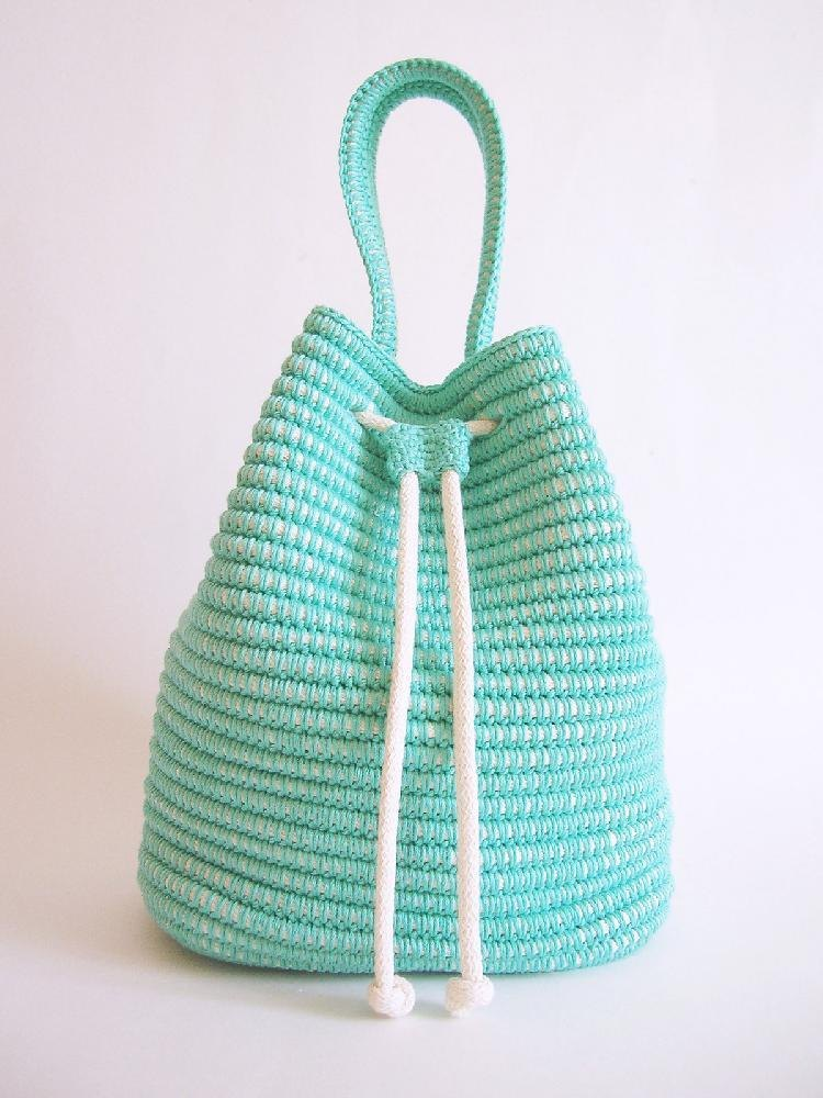 Drawstring Bag Crochet Pattern By Chabegs Crochet