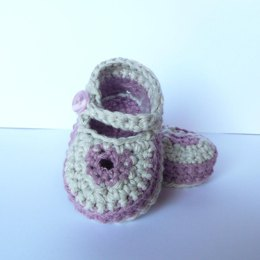 Cute Keyhole Baby Shoes