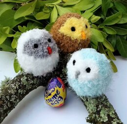 Easter Owl Babies - Chocolate Egg Cosies
