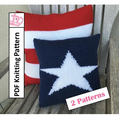 Star and Stripes Pillow covers