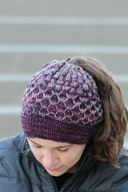 Mountain Berry Hat and Cowl