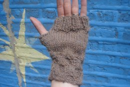 Honeycomb Fingerless Gloves