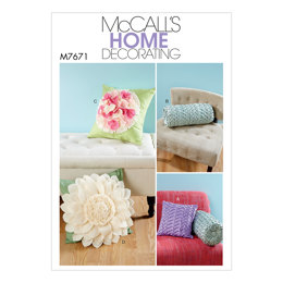 McCall's Pillows M7671 - Sewing Pattern