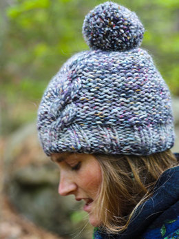Janis Hat in Berroco Mojo - Downloadable PDF