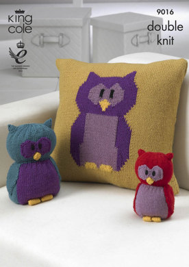 Owl Collection in King Cole Merino Blend DK - 9016
