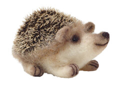 The Crafty Kit Company Baby Hedgehog Needle Felting Kit - 190 x 290 x 94mm