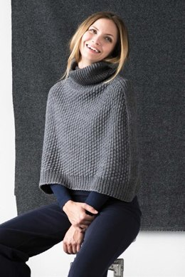 Essex Poncho in Berroco Cotolana - 375-3 - Downloadable PDF