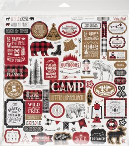 "Echo Park Paper Echo Park Collection Kit 12""X12"" - Little Lumberjack"