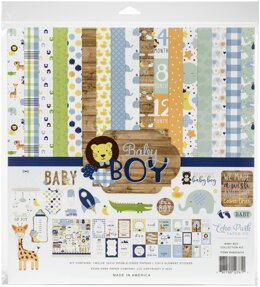 "Echo Park Paper Echo Park Collection Kit 12""X12"" - Baby Boy"