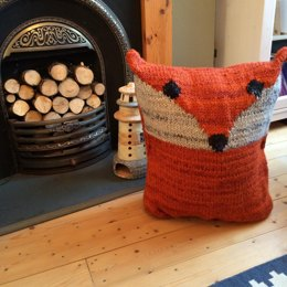 Fox Floor Pouf