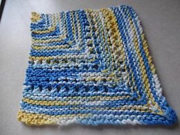 Mitered Lace Dish Cloth