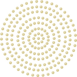 Artdeco Creations Couture Creations Adhesive Pearls 2mm 424/Pkg - Champagne