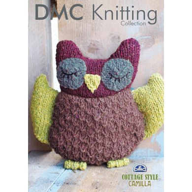 Owl Toy in DMC Cottage Style Camilla - 15191L/2