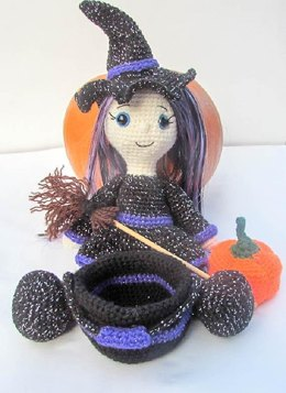 Sparkle Witch Doll
