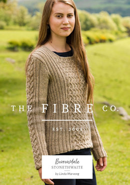 Stonethwaite Pullover in The Fibre Co. Lore - Downloadable PDF