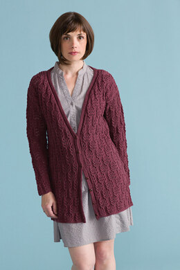 Let's Dance Sweater in Classic Elite Yarns Song