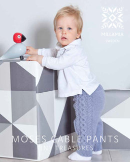 Moses Cable Pants in MillaMia Naturally Soft Aran - Downloadable PDF