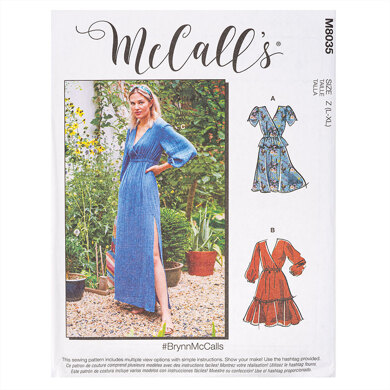 McCall's #BrynnMcCalls - Misses' Dresses M8035 - Sewing Pattern