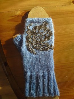 Butterfly Fingerless Gloves