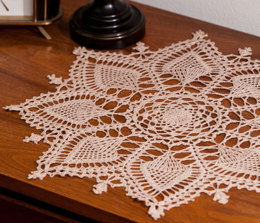 Pineapple Symphony in Aunt Lydia's Bamboo Crochet Thread Size 10 - LC2958 - Downloadable PDF