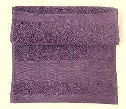 Rico Aubergine Guest Towel