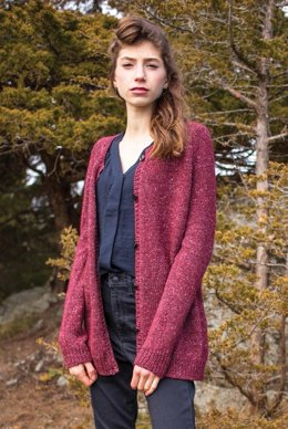 Harebell Cardigan in Berroco Tuscan Tweed - 380-2 - Downloadable PDF