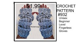 932-Basic Fingerless Gloves