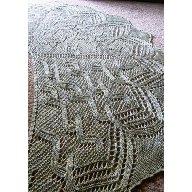 Irish Moss Shawl