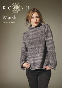 Marsh Pullover in Rowan Colourspun