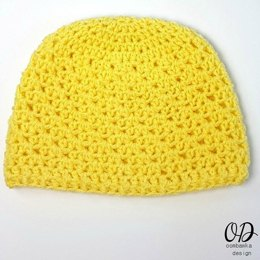Lemonade Newborn Baby Hat