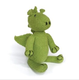 Crafty Kit Co Knit Your Own Dragon Kit