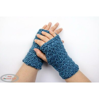 Lemon Peel Fingerless Gloves